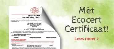 Arganolie met certificaat